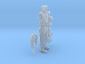 1/16 German Artyman Fig002 in Smooth Fine Detail Plastic