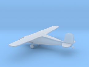 1/400 Scale Cessna 140 in Smooth Fine Detail Plastic