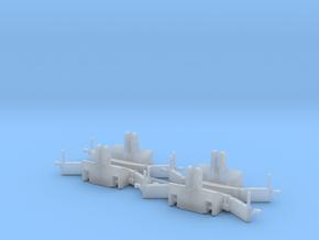 1/87 H0 TractorBumper mit Gewicht (4er Set) in Smooth Fine Detail Plastic