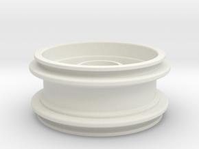 Felge Rim for 1:14 Tamiya / Lego Tire 62.4 x  in White Natural Versatile Plastic