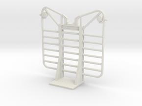 1/14th Logging  7 bar headache rack in White Natural Versatile Plastic