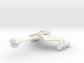 3125 Scale Klingon D7VB Strike Carrier WEM in White Natural Versatile Plastic