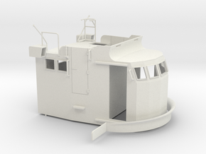 S38 Wheelhouse 1-35 in White Natural Versatile Plastic