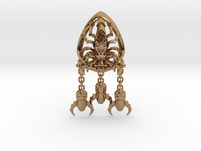 Skorpon Ace of Space Orden in Polished Brass (Interlocking Parts)