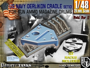 1/48 Oerlikon Magazine Cradle Set101 in Smooth Fine Detail Plastic
