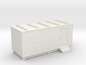 Shipping Container Office  in White Natural Versatile Plastic