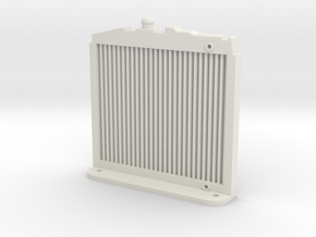 MST CFX / CMX RADIATOR in White Natural Versatile Plastic
