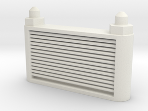 Oil Cooler in White Natural Versatile Plastic