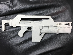 NECA Pulse Rifle Upgrade in Smoothest Fine Detail Plastic