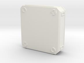 SciFi Medical Box in White Premium Versatile Plastic