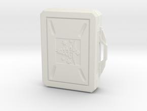 SciFi Medical Box with handle in White Premium Versatile Plastic