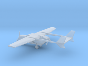 1/400 Scale O-2 in Smooth Fine Detail Plastic