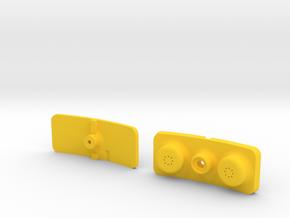Sony ECM-CS3 Helmet Mic Directional Conversion Kit in Yellow Processed Versatile Plastic