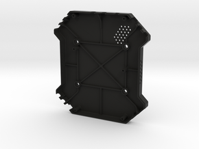 Enclosure - Bottom, Multi-Rotor Carrier Board in Black Natural Versatile Plastic