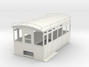 0-32-wolseley-siddeley-railcar-body-1 in White Natural Versatile Plastic