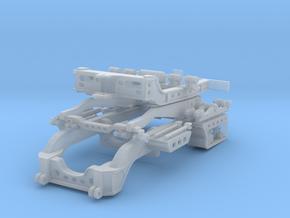 West Coast 9 axle Rear Module in Smooth Fine Detail Plastic