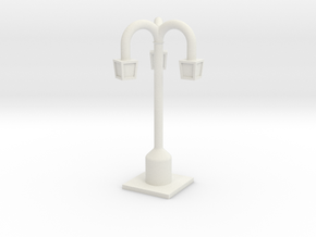 Lamp Posts in White Natural Versatile Plastic