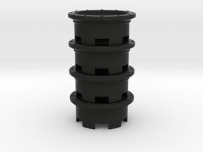Slotted mag set 2.2 in Black Natural Versatile Plastic