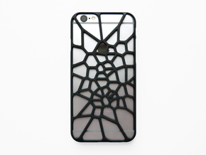 iPhone 6 / 6S case_Cell Division in Black Strong & Flexible