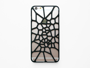 iPhone 6 plus / 6S plus Case_Cell Division in Black Natural Versatile Plastic