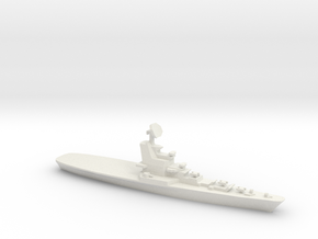 Moskva Class Helicopter Carrier, 1/1250 in White Natural Versatile Plastic