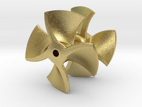 Revell_Fairplay_Propset_Brass in Natural Brass