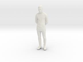 Printle C Homme 822 - 1/28 - wob in White Natural Versatile Plastic