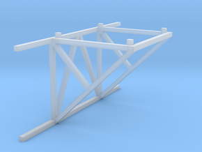 1/64 10' Support Tower Catwalk Connection in Smooth Fine Detail Plastic