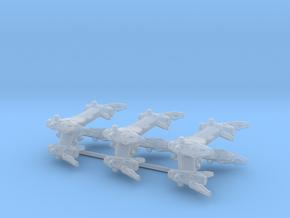 EA Starfury Aurora Fighter 3-Pack in Smooth Fine Detail Plastic