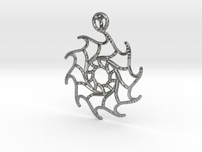 Stella Maris Pendant in Polished Silver