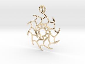 Stella Maris Pendant in 14K Yellow Gold