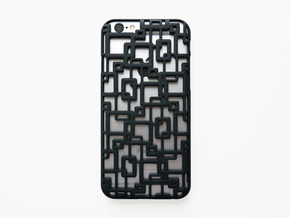 iPhone 6 / 6S Case_Connection in Black Natural Versatile Plastic