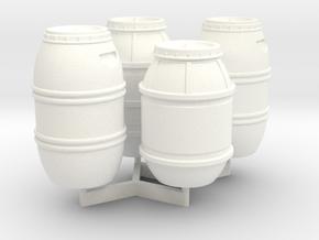 1:43 DEAGO FALCON YT1300 ANH CARGO BARREL SET TA.1 in White Processed Versatile Plastic
