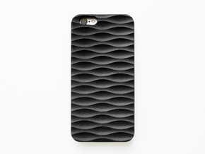 iPhone 6S Case_Seamless in Black Natural Versatile Plastic
