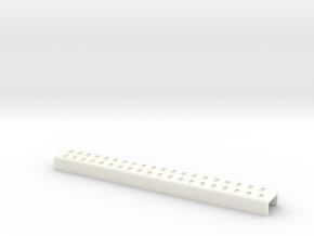 Wessex main door step in White Processed Versatile Plastic