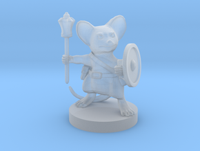Mousefolk Cleric in Smooth Fine Detail Plastic