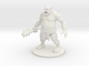 Ogre in White Strong & Flexible