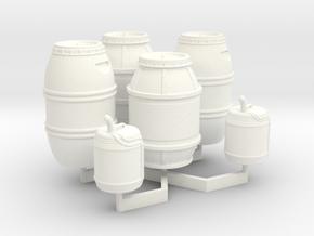 1:43 DEAGO FALCON YT1300 ANH CARGO BARREL+JER TC.1 in White Processed Versatile Plastic