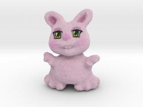 Bunny Girl Figurine in Full Color Sandstone