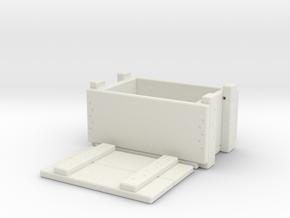 1/10 scale ammunition & grenade MilSpec crate x 1 in White Natural Versatile Plastic