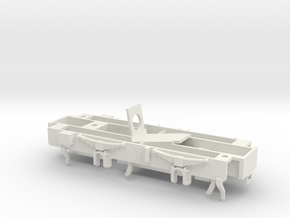 TS01 Diesel Shunter 0-4-0 Chassis in White Natural Versatile Plastic