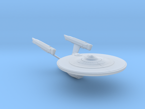 Federation Enterprise-Class Mk3 Refit 1:3788 in Smooth Fine Detail Plastic