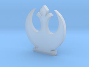 Rebel Alliance Symbol in Smooth Fine Detail Plastic