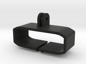 Tzumi Pocket Juice 8,000 GoPro Mount in Black Natural Versatile Plastic