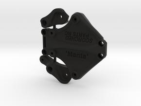 Twin Hammers WL10428  'Manta' Bell Crank Steering in Black Natural Versatile Plastic