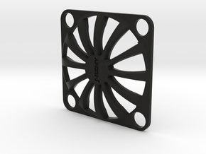Fan Guard 25x25mm in Black Natural Versatile Plastic