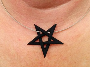 Devil's Cross (Medium) in Black Strong & Flexible