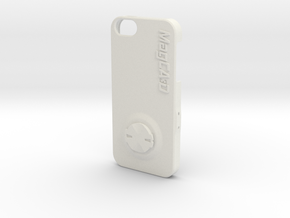 iPhone 5S & SE Garmin Mount Case in White Premium Versatile Plastic