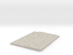 Model of Eiras in Natural Sandstone