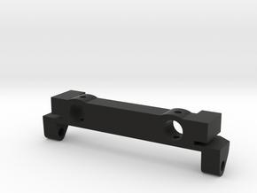 SCX10 Rear Leaf Spring Shackle Hanger in Black Natural Versatile Plastic